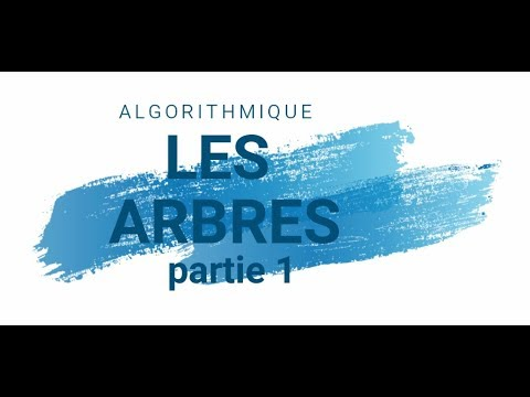 ASD : Les Arbres - Introduction Partie 1 (darija)