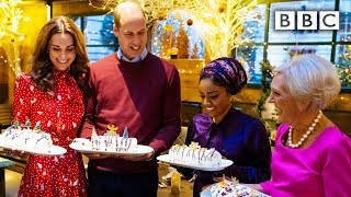 Royals take on the roulade challenge with Nadiya and Mary Berry! | A Berry Royal Christmas - BBC