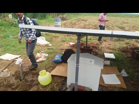 Root irrigation system h.d.Kote solar pumping