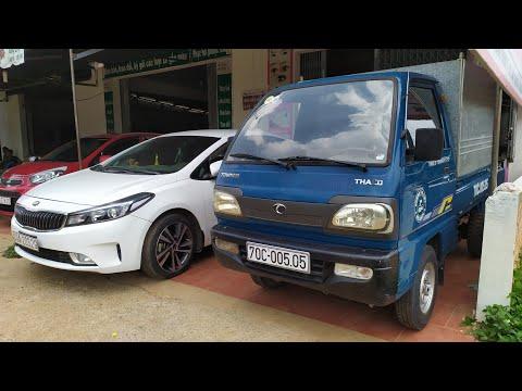 Bán ô tô giá 72 triệu nhãn hiệu thaco towner số điện thoại trong phần mô tả video.