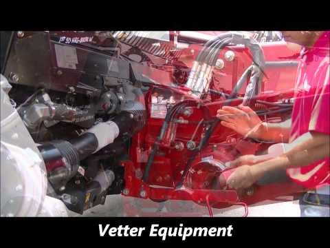 Vetter Equipment, Slow Speed Transport Deploy, MacDon, Harvest