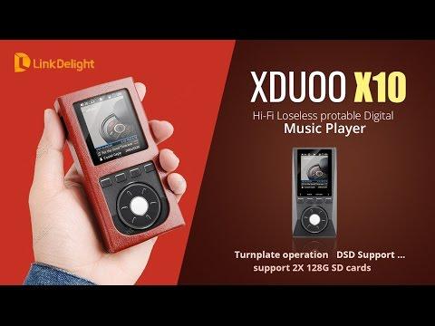 Wonderful XDUOO X10 Hi-Fi Loseless Digital Music Player -- Linkdelight.com