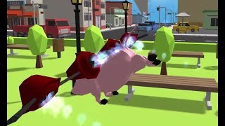 CRAZY PIG SIMULATOR GAME MISSION 25-30 WALKTHROUGH