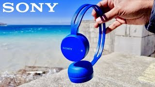 Sony WH-CH400 On-Ear Wireless …