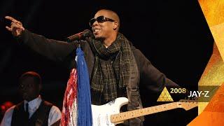 Jay-Z - Wonderwall/99 Problems (Glastonbury 2008)