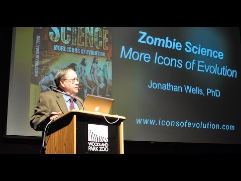 Jonathan Wells Presents His Latest Book Zombie Science