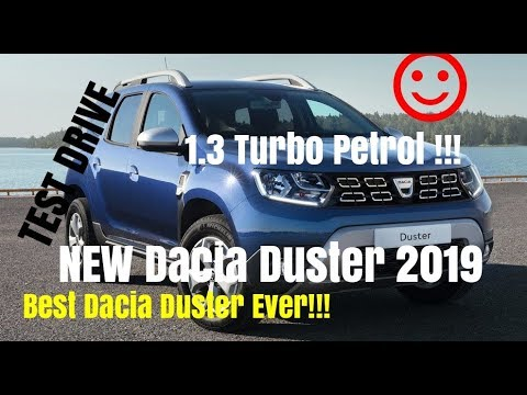 AWESOME New Dacia Duster 2019 1.3 Turbo 130hp Test Drive Review (Best Dacia Duster So Far)
