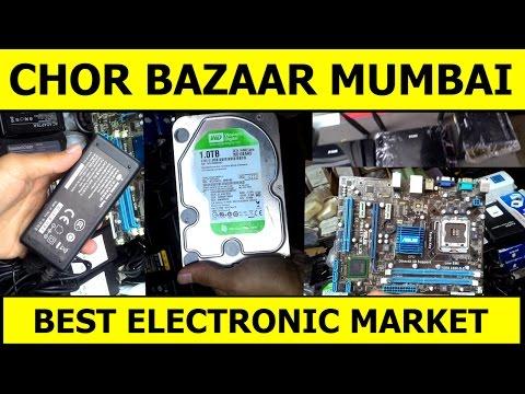 CHOR BAZAAR MUMBAI (LAMINTON ROAD) | Chor Bazaar Electronics Market | Laptop, Computer Market