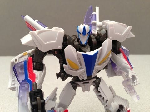SMOKESCREEN TRANSFORMERS PRIME BEAST HUNTERS ROBOTS IN DISGUISE VIDEO REVIEW
