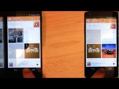 Android 4.4 Kit-Kat Runtime Comparison - Dalvik VS ART (Opening Apps)