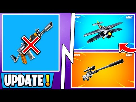 *ALL* Fortnite 7.13 Changes! | Burst Vaulted, New Location, Plane Update! thumbnail