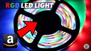 Amazon BEST!!! LED Strip RGB Lights for decoration and cove lighting (Unboxing & Full Review)