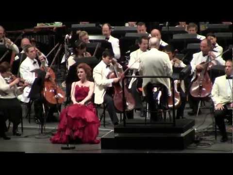 (Carmina Burana - O Fortuna - Carl Orff - LA Philharmonic) - Hollywood Bowl 08-30-12