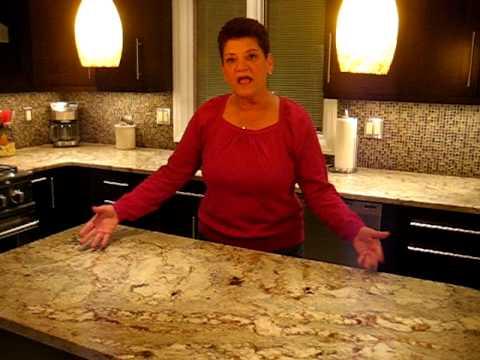 Joan Talks About Typhoon Bordeaux Granite From Millenium