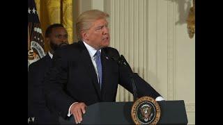 Trump Honors 1st Responders of Congress Attack