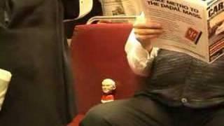 metro pope bobblehead ad