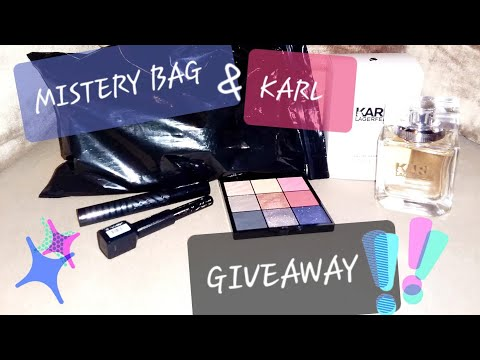 🎁MAKEUP GIVEAWAY🎁 2 WINNERS | REVOLUTION BEAUTY MISTERY BAG Unboxing & L'OREAL X KARL LAGERFELD 🎀