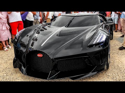 BUGATTI La Voiture Noire - Drive, Design and Features (4k)