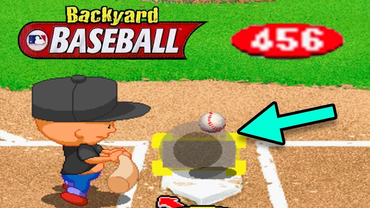 pablo crushed that backyard baseball 2001 youtube