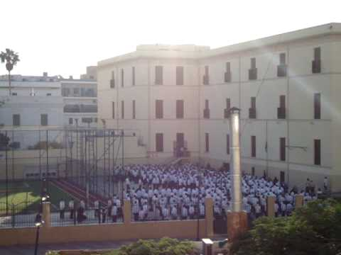 School in front of my flat in Tripoli part 4 ... end