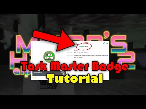 [Bere's tasks completion] Miner's Haven 2   Tutorials   How to get the 'Task Master' badge!