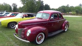 Dwight Harvest Days Car Show 2017 #2 (HD)