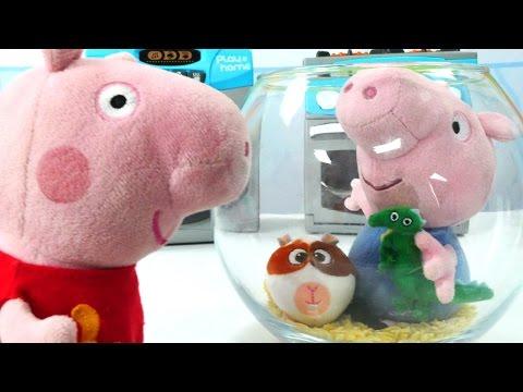 Мягкие игрушки! Кукольный домик: игрушки из мультфильмов про Свинку Пеппу! #Плюшики: дом на колесах!