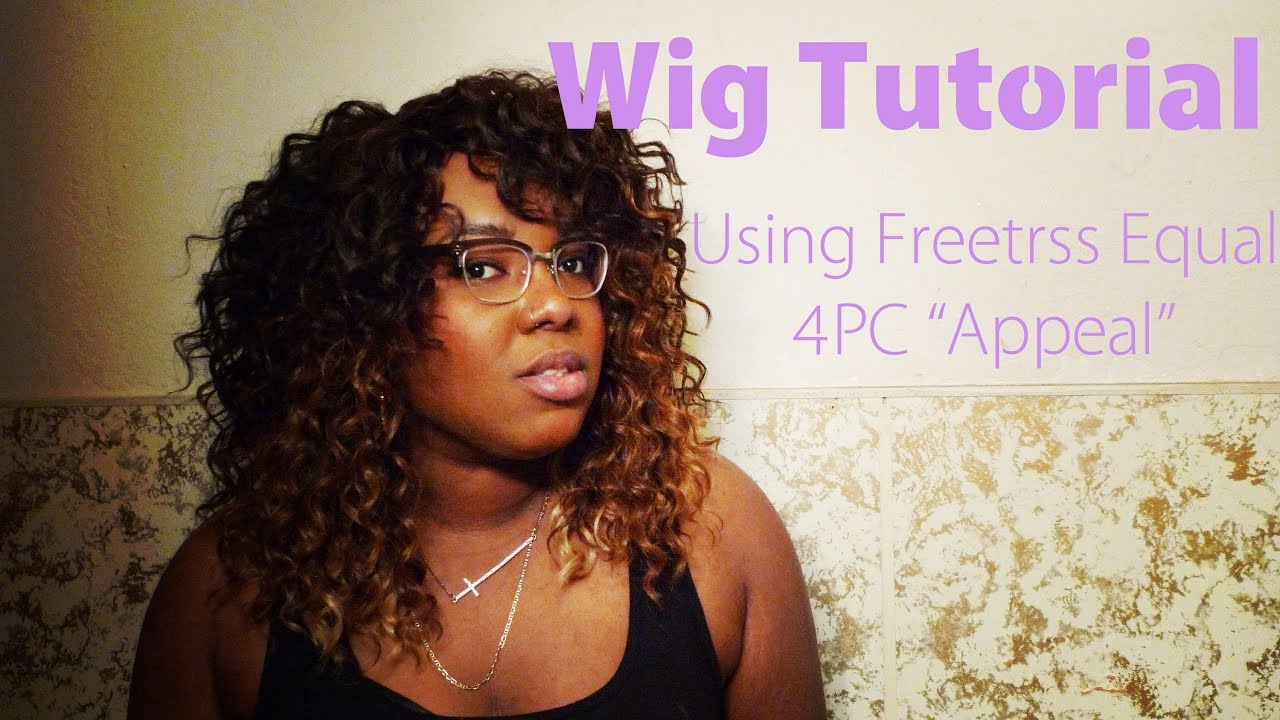 Curly wig using freetress equal 4pc appeal youtube pmusecretfo Image collections