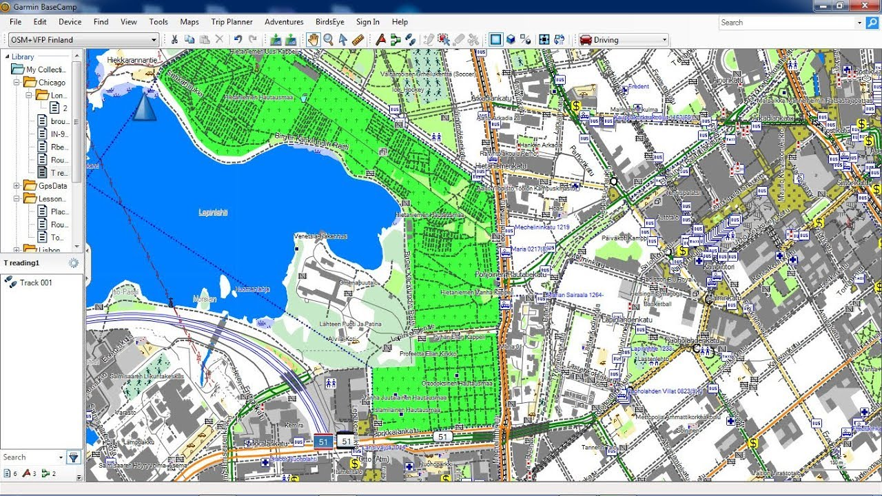 Free maps for Garmin Basecamp from OSM update 2018