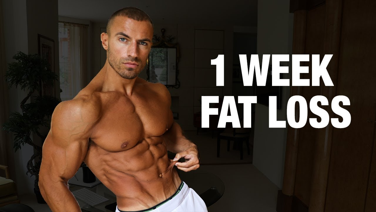 How Much Body Fat Can You Lose In A Week ?