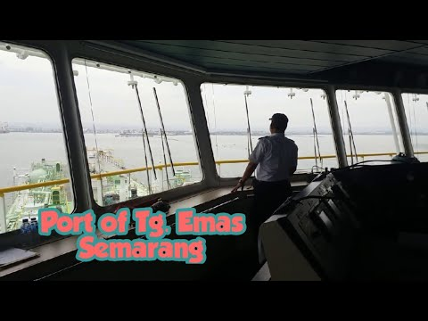 Ships Movements at Semarang port of Tanjung Emas