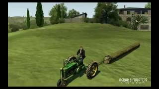 Agricultural Simulator: Historical farming  HD game trailer - PC