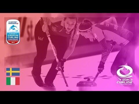 Sweden v Italy - Women's Semi-final - Le Gruyère AOP European Curling Championships 2017
