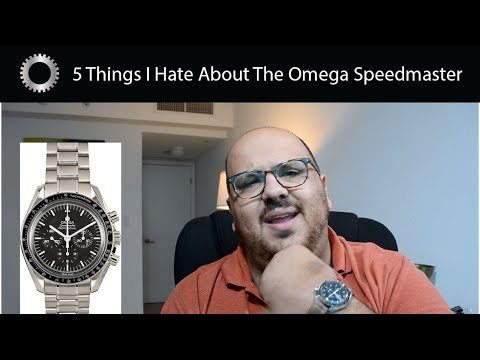5 Things I Hate About The Omega Speedmaster - Federico Talks Watches