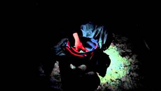 रात में हर्पून मछली पकड़ना