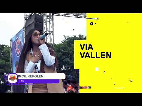 VIA VALLEN _ Kimcil Kepolen Live Kota Tegal 2018