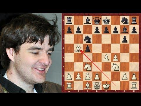 Sicilian Grand Prix Attack Chess Opening: Gawain Jones brilliancy game vs Lock Van Wely