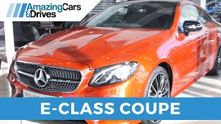Mercedes E220d E Class Coupe - Mercedes Benz Belfast - Mercedes Dealers Ireland - Mercedes Ireland