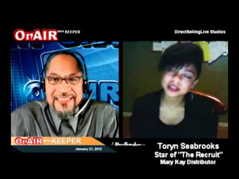 """Direct Selling Reality Show """"The Recruit"""" Star Toryn Seabrooks"""