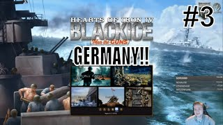 HoI4 - MOD: BlackICE Historical Immersion - Let's play Germany! - Part 3