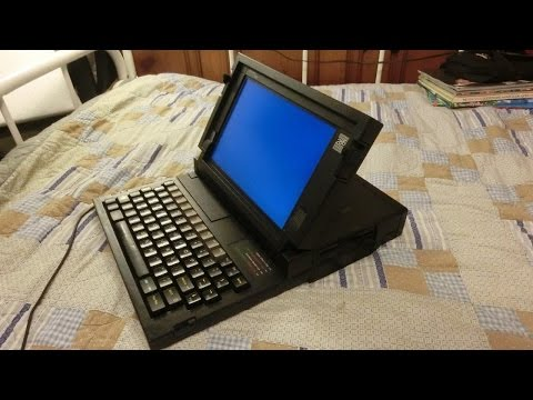1986 GRiDCase 1520 rugged 286 laptop