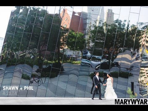 Cleveland Wedding Photographer MOCA Museum of Contemporary Art Kate Spade Inspired | Shawn + Phil