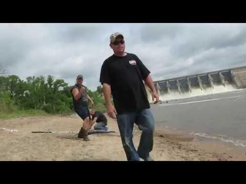kaw dam 2017 spoon bill fishing oklahoma good day