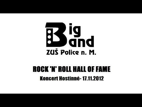 Paul Jennings  Rock'n'roll Hall of Fame  Koncert Hostinné  Big Band  ZUŠ Police nad Metují