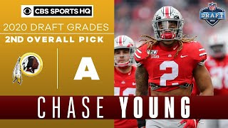 Redskins get the PERFECT FIT with Chase Young | 2020 NFL Draft | CBS Sports HQ