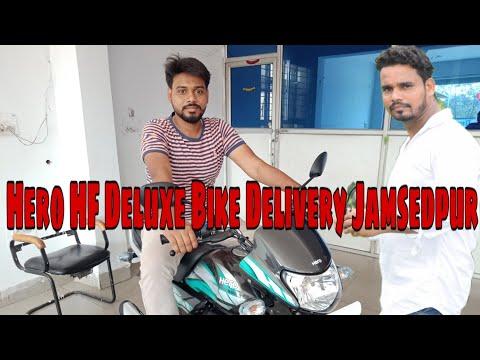 Hero HF Deluxe Ibs Bike Delivery Jamsedpur Tapan rider jsr Volog