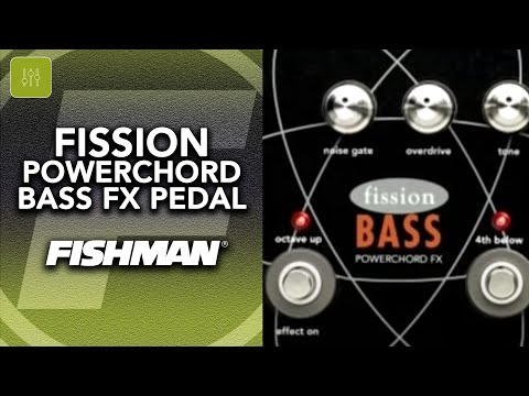 Fishman Fission Powerchord Bass FX Pedal