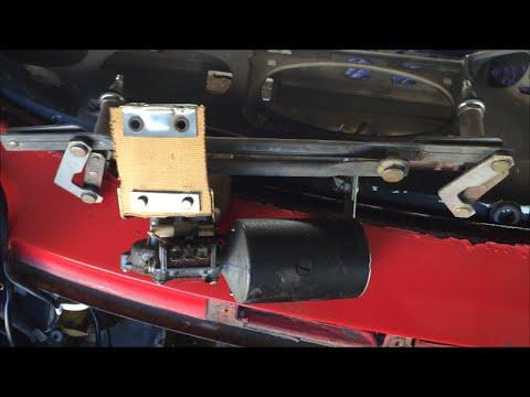 Porsche 911 Windshield Wiper Motor Assembly - YouTube