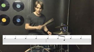 Learn Drums to Breaking the Habit by Linkin Park