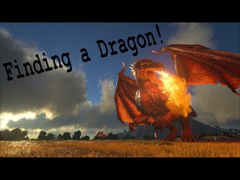 How to find a Dragon in ARK!
